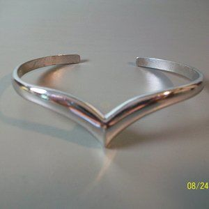 Avon Silver Cuff Bracelet